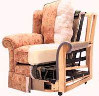 Конструкция кресла