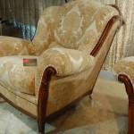 Отреставрированное кресло
