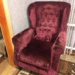 Кресло Велюр до рестоврации