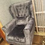 Кресло Велюр после рестоврации