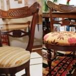 Реставрация стула в мастерской
