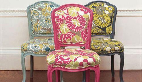 Фото старинных стульев после перетяжки